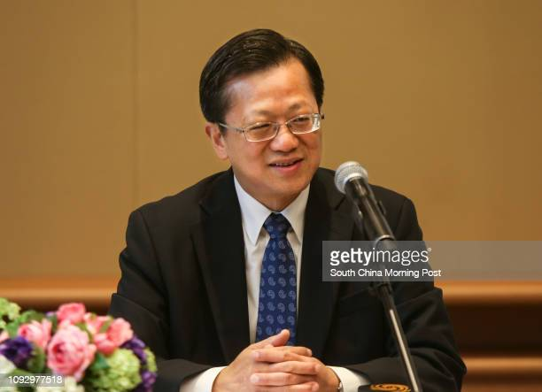 Director General Department of Treaty and Law Ministry of Foreign Affairs People's Republic of China Dr Xu Hong at the 2017 Colloquium on...