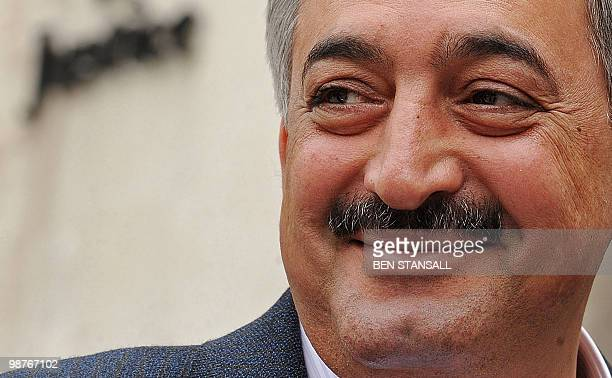 Director General of Iraqi Airways Kifah Hassan Jabbar leaves the High Court in central London on April 30 2010 Hassan appeared in court Friday after...