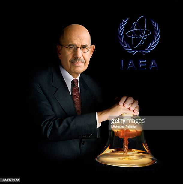 Director General of the International Atomic Energy Agency Mohamed El Baradei, winner of the 2005 Peace Nobel Prize.