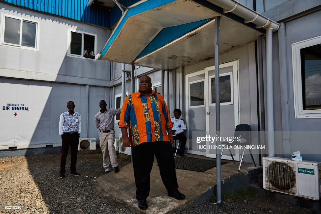 LIBERIA-HEALTH-DISEASE-EBOLA : News Photo