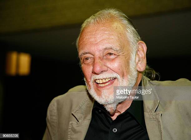 Director George A Romero arrives at the 'Survival of the Dead' Midnight Madness screening during the 2009 Toronto International Film Festival held at...