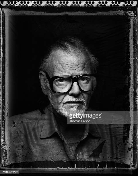Director George A Romero is photographed for Self Assignment on March 30 2008 in Paris France