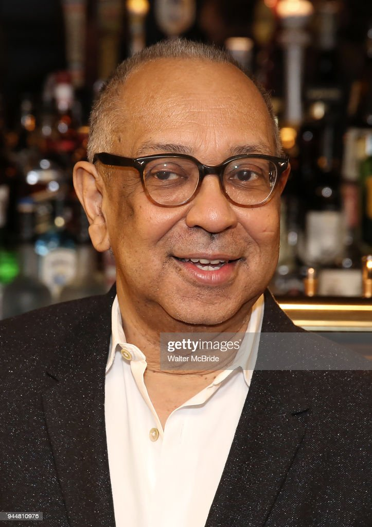 Director George C. Wolfe attends the Broadway cast of 'The Iceman Cometh' Press Photocall at Delmonico's on April 11, 2018 in New York City.