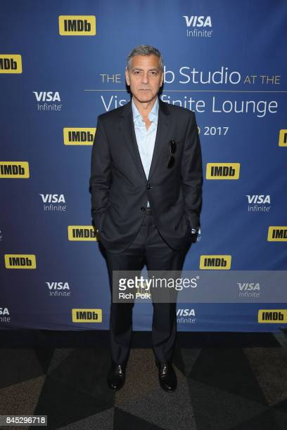 Director George Clooney of 'Suburbicon' attends The IMDb Studio Hosted By The Visa Infinite Lounge at The 2017 Toronto International Film Festival at...