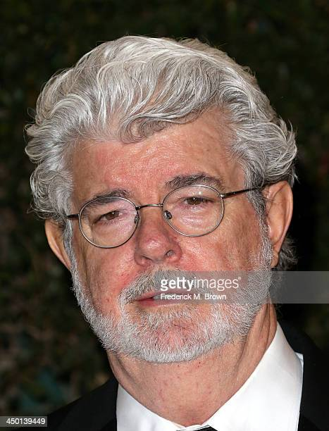 Director George Lucas arrives at the Academy of Motion Picture Arts and Sciences' Governors Awards at The Ray Dolby Ballroom at Hollywood Highland...