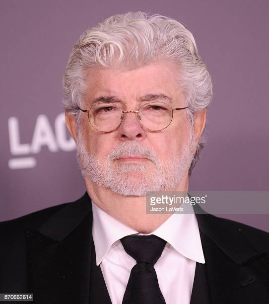 Director George Lucas attends the 2017 LACMA Art Film gala at LACMA on November 4 2017 in Los Angeles California