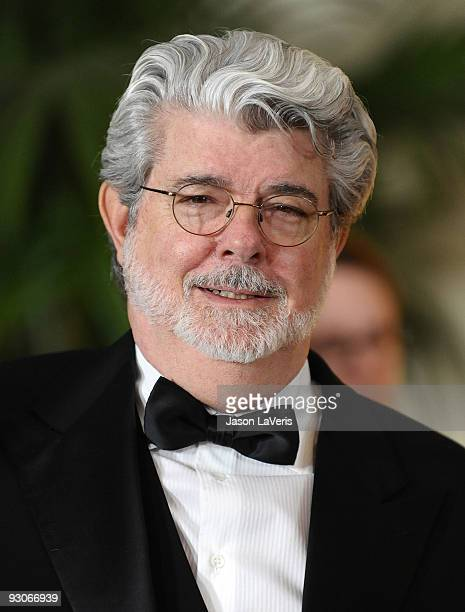 Director George Lucas attends the Academy Of Motion Pictures And Sciences' 2009 Governors Awards Gala at the Grand Ballroom at Hollywood & Highland...