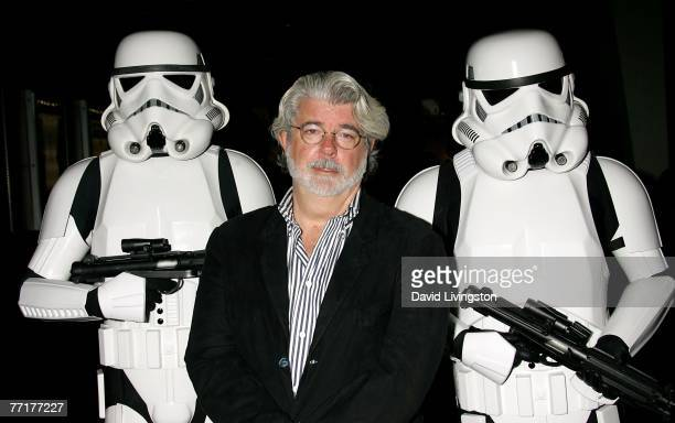 ACCESS*** Director George Lucas presents the film Star Wars Episode IV A New Hope at AFI's 40th Anniversary celebration presented by Target held at...