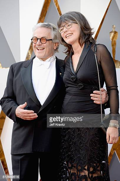 Director George Miller and editor Margaret Sixel attend the 88th Annual Academy Awards at Hollywood Highland Center on February 28 2016 in Hollywood...