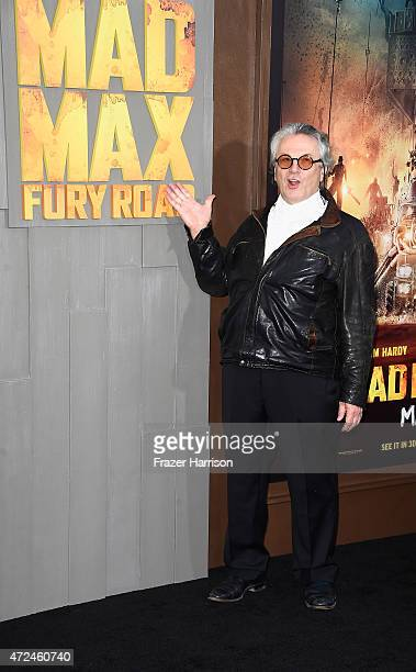 "Director George Miller arrives at the Premiere Of Warner Bros. Pictures' ""Mad Max: Fury Road"" at TCL Chinese Theatre on May 7, 2015 in Hollywood,..."