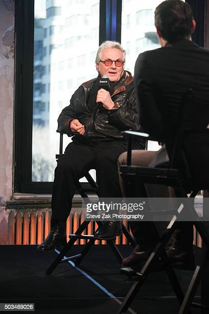Director George Miller attends AOL BUILD series George Miller Mad Max Fury Road at AOL Studios In New York on January 5 2016 in New York New York