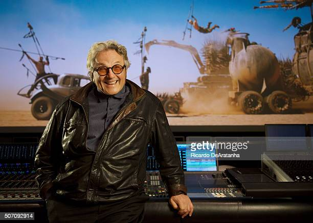 Director George Miller is photographed for Los Angeles Times on January 7 2016 in Burbank California Published Image Credit Must Read Ricardo...