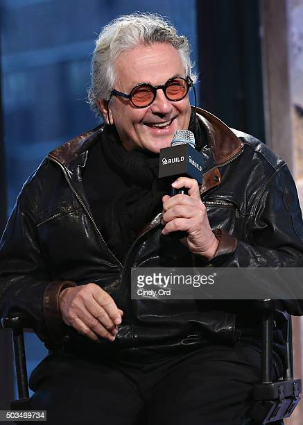 Director George Miller takes part in AOL BUILD Series George Miller Mad Max Fury Road at AOL Studios on January 5 2016 in New York New York