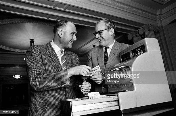 Director Gerald Thomas and Producer Peter Rogers 9th December 1964