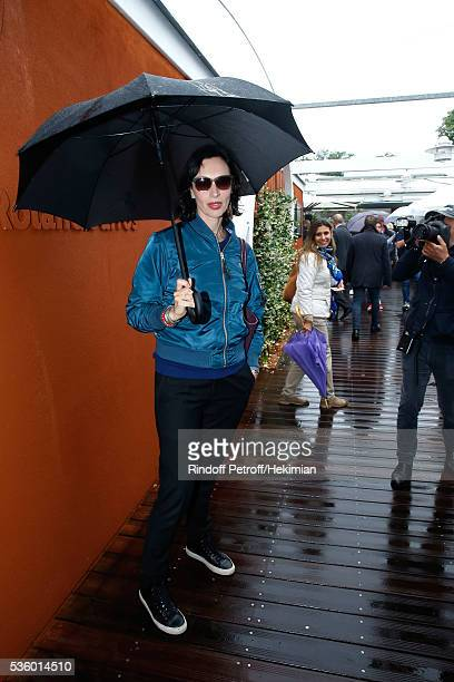 Director Geraldine Maillet attends Day Ten of the 2016 French Tennis Open at Roland Garros on May 31 2016 in Paris France