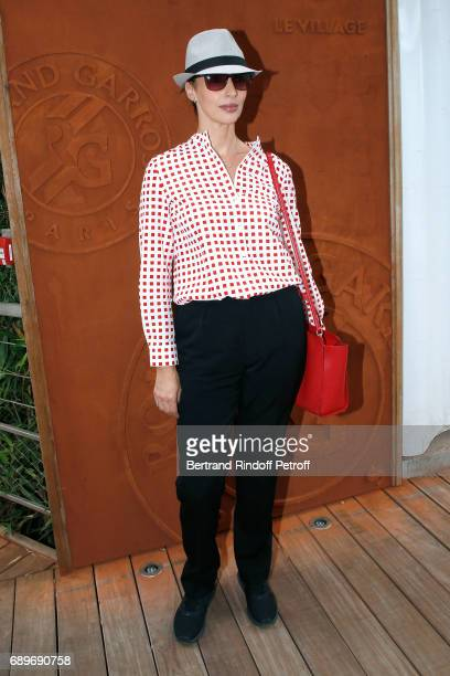 Director Geraldine Maillet attends the 2017 French Tennis Open Day Two at Roland Garros on May 29 2017 in Paris France