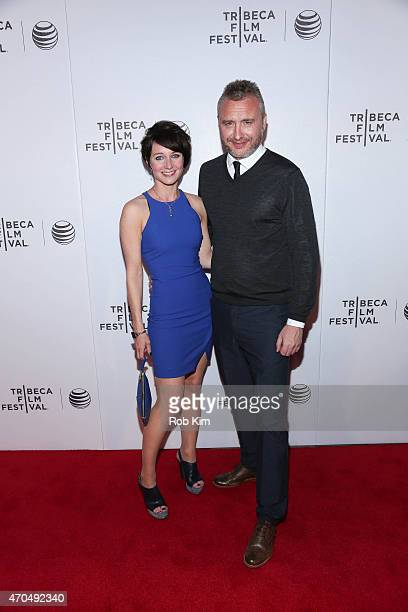 Director Gerard Johnson and Polly Maberly attend the premiere of Hyena during the 2015 Tribeca Film Festival at Regal Battery Park 11 on April 20...