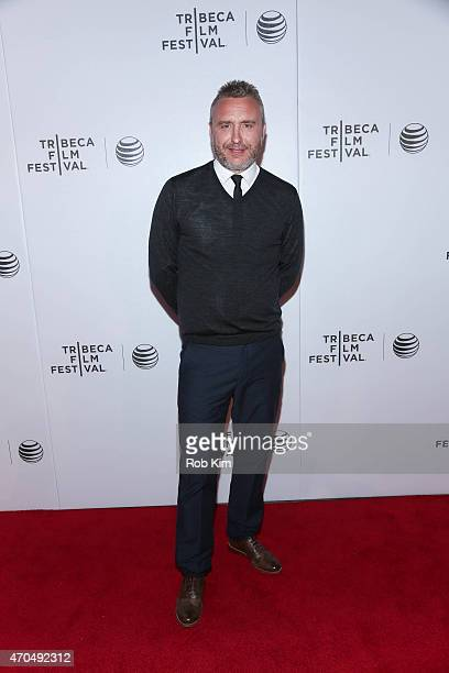Director Gerard Johnson attends the premiere of Hyena during the 2015 Tribeca Film Festival at Regal Battery Park 11 on April 20 2015 in New York City