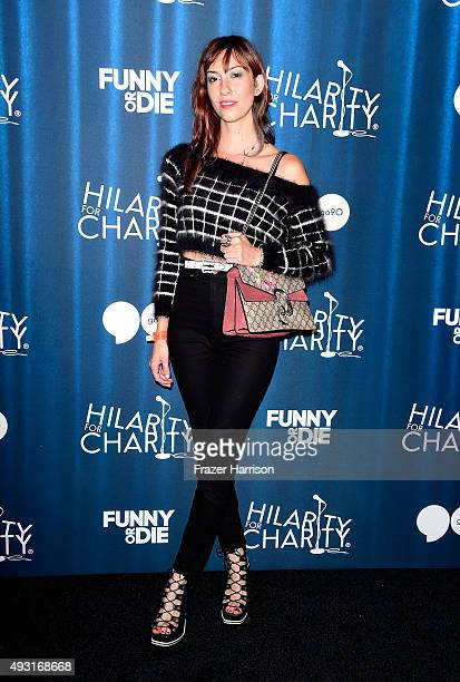 Director Gia Coppola arrives at the James Franco's Bar Mitzvah Hilarity For Charity's 4th Annual Variety Show at Hollywood Palladium on October 17...