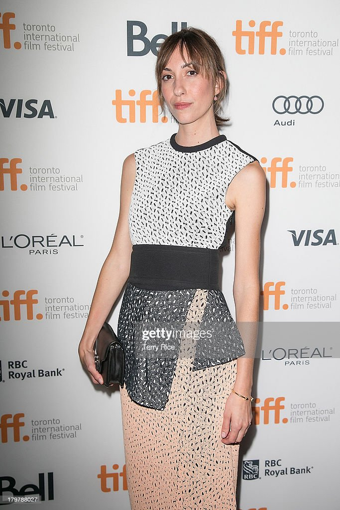 Director Gia Coppola arrives at the 'Palo Alto' premiere during the 2013 Toronto International Film Festival at Scotiabank Theatre on September 6, 2013 in Toronto, Canada.
