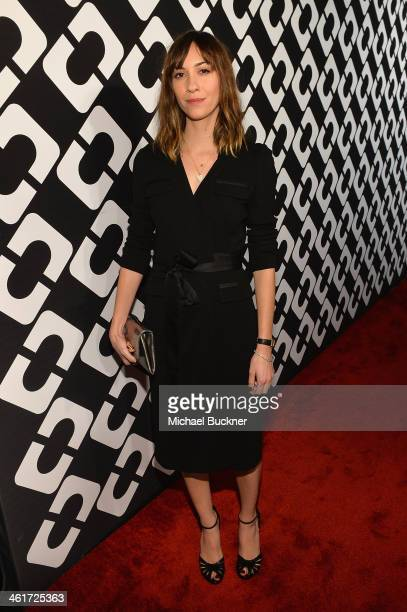 Director Gia Coppola attends Diane Von Furstenberg's Journey of A Dress Exhibition Opening Celebration at May Company Building at LACMA West on...