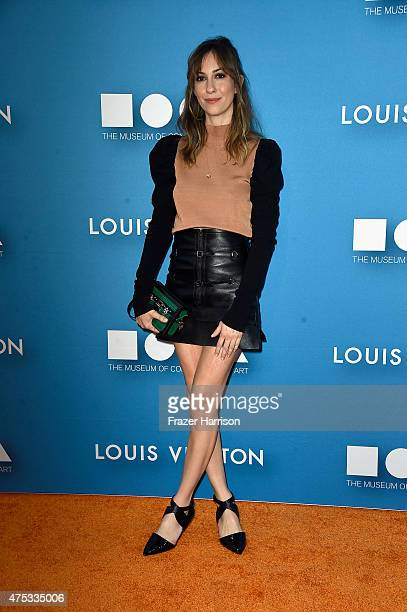Director Gia Coppola attends the 2015 MOCA Gala presented by Louis Vuitton at The Geffen Contemporary at MOCA on May 30 2015 in Los Angeles California