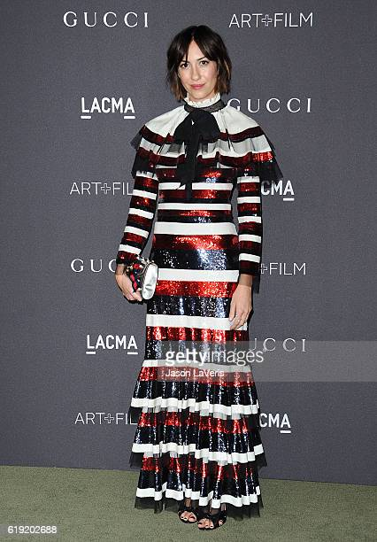 Director Gia Coppola attends the 2016 LACMA Art Film gala at LACMA on October 29 2016 in Los Angeles California