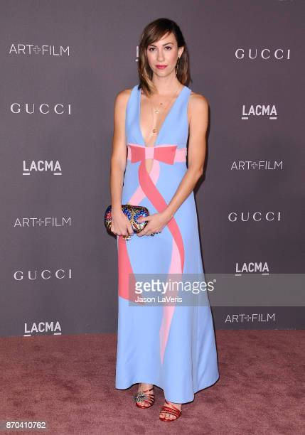 Director Gia Coppola attends the 2017 LACMA Art Film gala at LACMA on November 4 2017 in Los Angeles California
