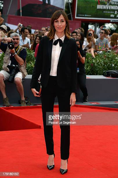 Director Gia Coppola attends the 'Palo Alto' Premiere during the 70th Venice International Film Festival at the Sala Grande on September 1 2013 in...