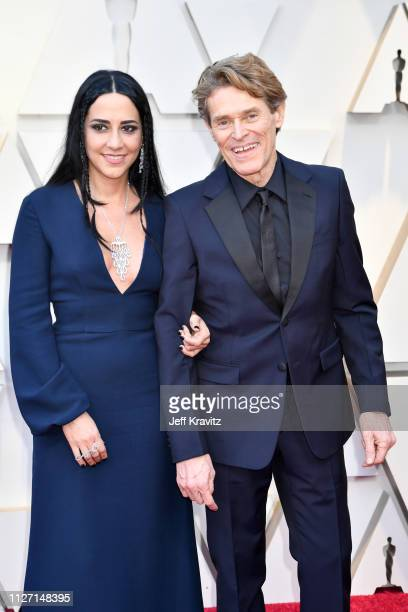 Director Giada Colagrande and Willem Dafoe attends the 91st Annual Academy Awards at Hollywood and Highland on February 24 2019 in Hollywood...