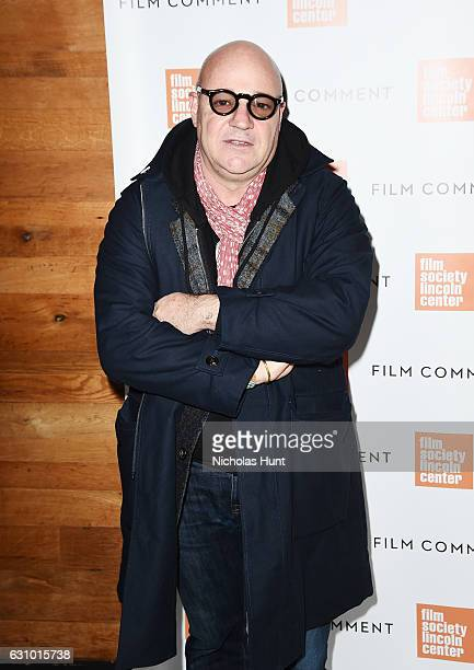Director Gianfranco Rosi attends the 2016 Film Society Of Lincoln Center Film Comment Luncheon at Scarpetta on January 4 2017 in New York City