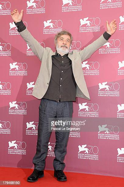 Director Gianni Amelio attend 'L'Intrepido' Photocall during the 70th Venice International Film Festival at Palazzo del Casino on September 4, 2013...