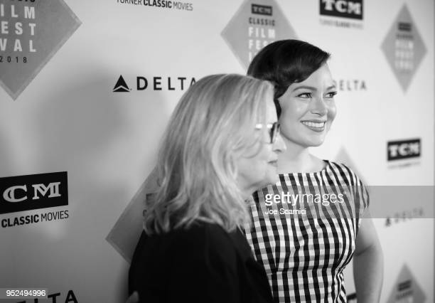 Director Gillian Armstrong and TCM Filmstruck host Alicia Malone attend 'A Conversation with Gillian Armstrong' during day 3 of the 2018 TCM Classic...