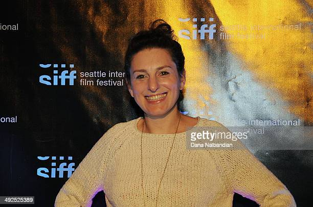 Director Gillian Robespierre at the Egptian Theater screening of Obvious Child on May 20 2014 in Seattle Washington