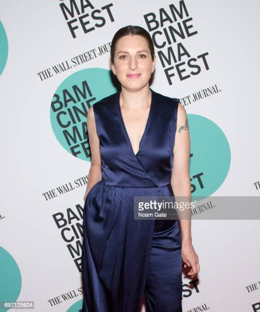 Director Gillian Robespierre attends the BAMcinemaFest 2017 screening of Landline at BAM Harvey Theater on June 17 2017 in New York City