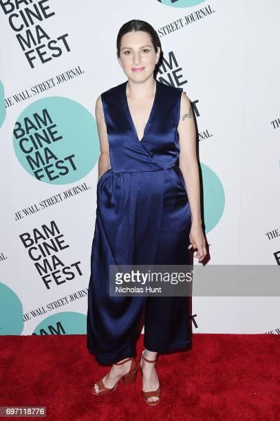 Director Gillian Robespierre attends the Landline New York screening during the BAMcinemaFest 2017 at BAM Harvey Theater on June 17 2017 in New York...