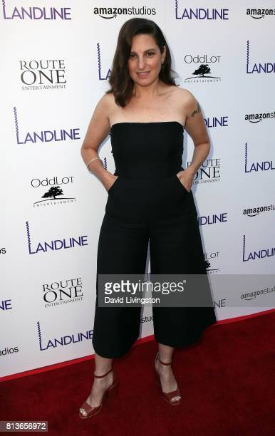 Director Gillian Robespierre attends the premiere of Amazon Studios' Landline at ArcLight Hollywood on July 12 2017 in Hollywood California