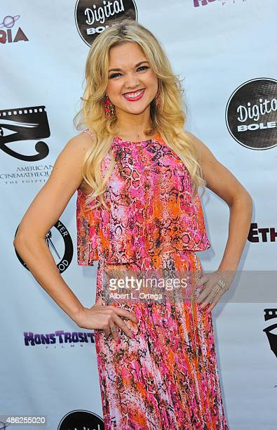 Director Gina Lee Ronhovde arrives for the Etheria Film Night 2015 held at American Cinematheque's Egyptian Theatre on June 13, 2015 in Hollywood,...