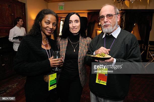Director Glenda Wharton Silke Popp and Dieter Stumpp attend Patron Circle Reception during the 2010 Sundance Film Festival at Wahso Asian Grill on...