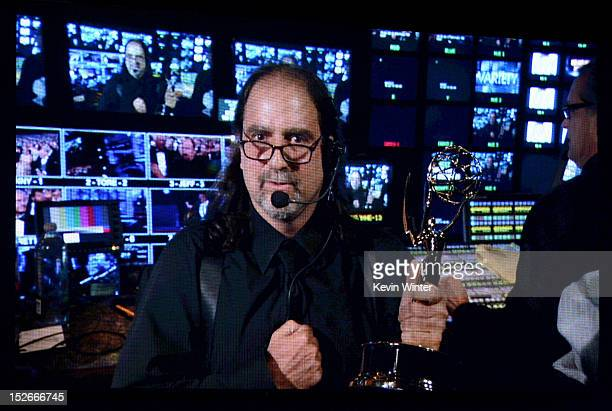 Director Glenn Weiss accepts the Outstanding Directing for a Variety Music or Comedy Special Award for 65th Tony Awards during the 64th Annual...
