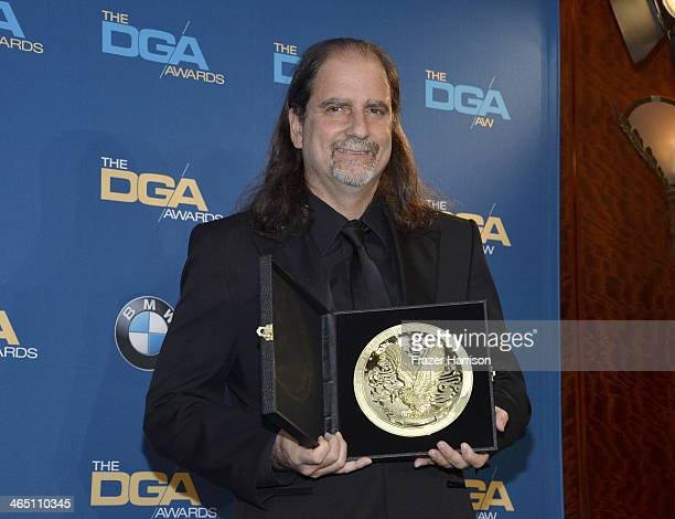 Director Glenn Weiss winner of the Outstanding Directorial Achievement in Variety/Talk/News Sports Specials for The 67th Annual Tony Awards poses in...