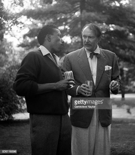 Director Gordon Parks and actor Albert Dekker