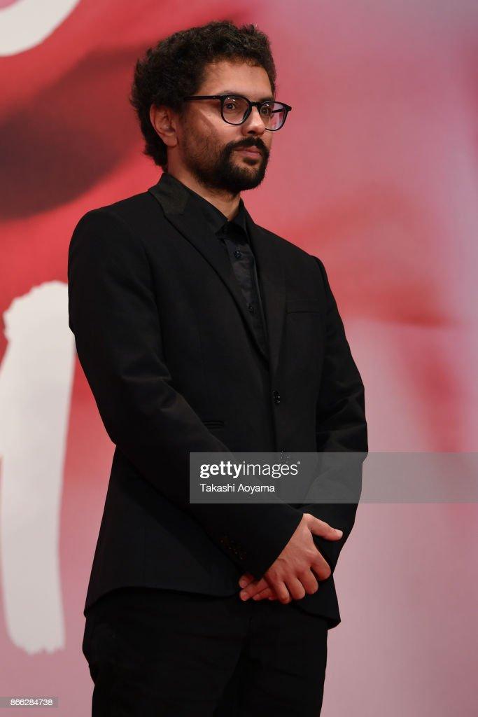 Director Govinda Van Maele attends the red carpet of the 30th Tokyo International Film Festival at Roppongi Hills on October 25, 2017 in Tokyo, Japan.