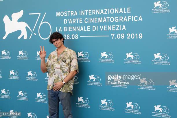 Director Grear Patterson attends Giants Being Lonely photocall during the 76th Venice Film Festival at Sala Grande on September 01 2019 in Venice...