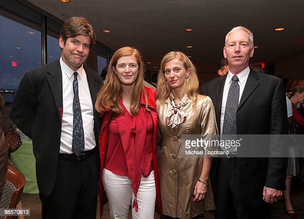Director Greg Barker Author Samantha Power and Film Subjects Carolina Larriera and First Sargeant William Vonzehle attend the HBO documentary...