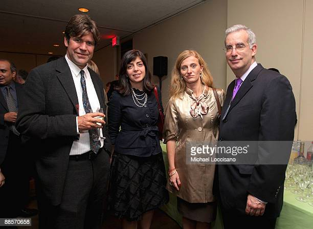 Director Greg Barker HBO Documentary Films VP Nancy Abraham Film Subject Carolina Larriera and CNN senior UN correspondent Richard Roth attend the...