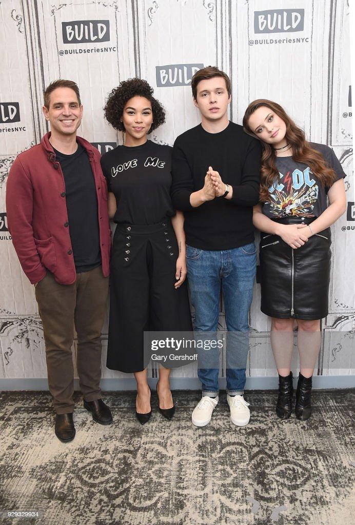 Celebrities Visit Build - March 8, 2018 : News Photo