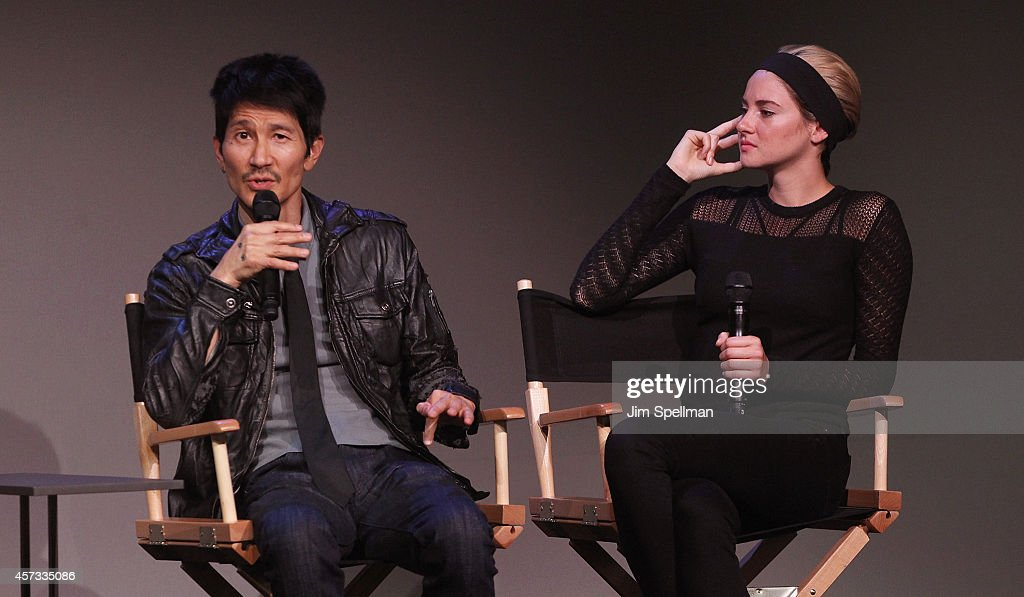 Apple store soho presents meet the filmmakers gregg araki and director gregg araki and actress shailene woodley attend the apple store soho presents meet the m4hsunfo