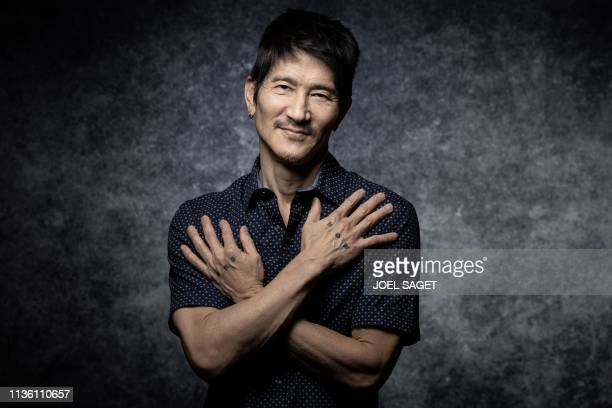 Director Gregg Araki poses for a photo session during the 2nd edition of the Cannes International Series Festival on April 10 , 2019 in Cannes,...