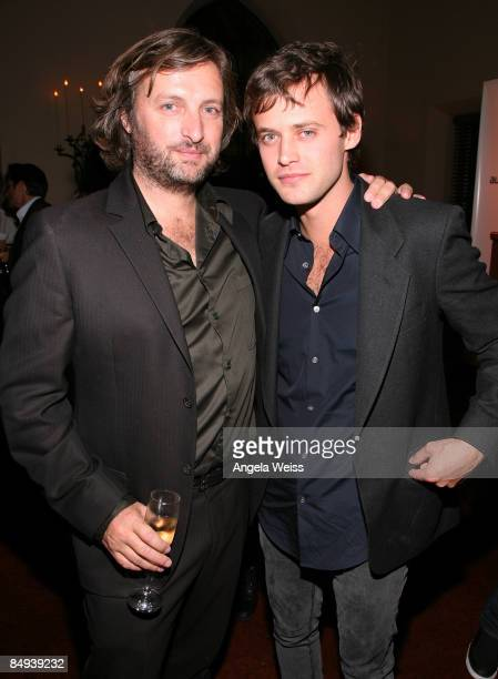 Director Gregor Jordan and actor Oliver Ackland attend the Australian Academy Award Nominee and the Australians in Film Heath Ledger Scholarship...
